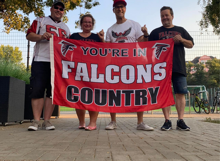 Atlanta Falcons Germany-Treffen in Berlin