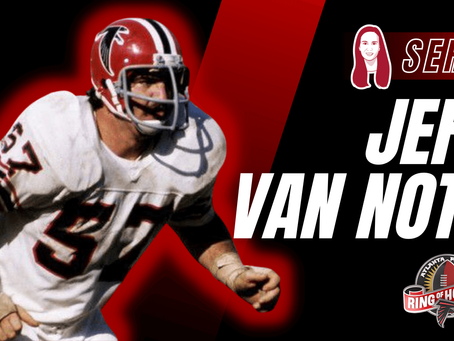 Jeff Van Note - Ring of Honor
