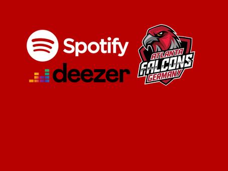 Atlanta Falcons Germany jetzt auf Spotify und Deezer