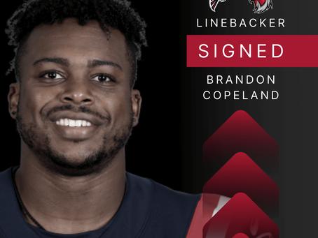 Brandon Copeland - Linebacker verpflichtet