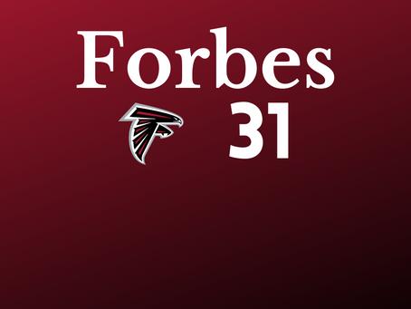 Atlanta Falcons sind das 31. wertvollste Team der Welt