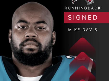 Mike Davis - Runningback verpflichtet