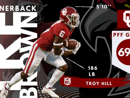 Tre Brown - Cornerback Oklahoma