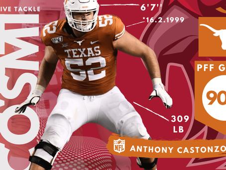 Samuel Cosmi - Offensive Tackle Texas Longhorns