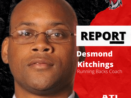 Desmond Kitchings - Running Backs Coach