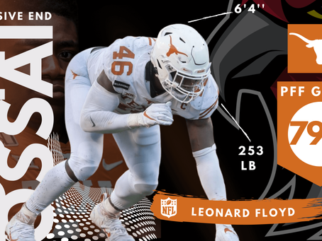 Joseph Ossai - Defensive End Texas Longhorns