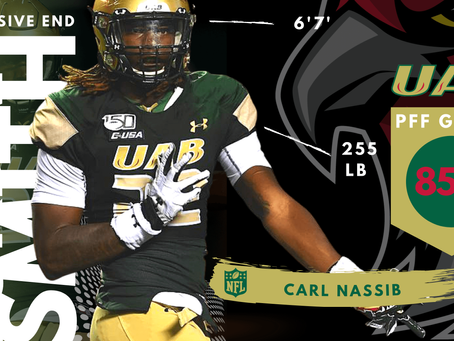 Jordan Smith - Defensive End UAB