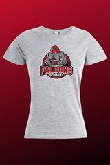 Bodybuilder Falcon Women grau