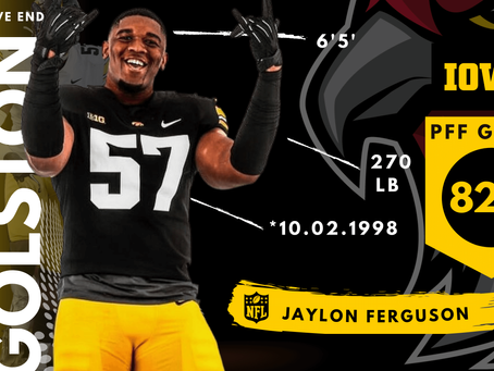 Chauncey Golston - Defensive End Iowa