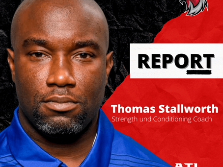 Thomas Stallworth - Strength und Conditioning Coach