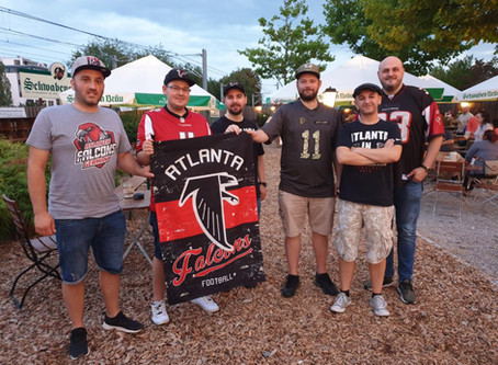 1. Falcons-Fan-Treffen in Stuttgart