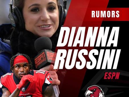 Dianna Russini spricht in der Rich Eisen Show über Julio Jones