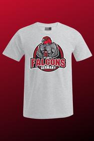 Bodybuilder Falcon Herren grau