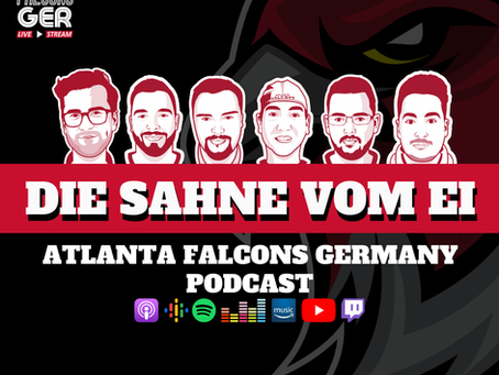 Die Sahne vom Ei - Live Talk der Atlanta Falcons Germany