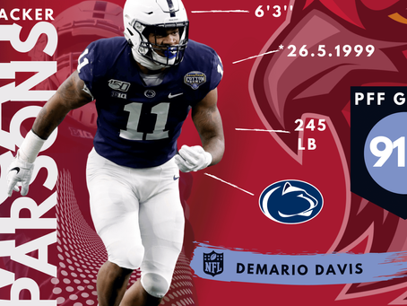 Micah Parsons - Linebacker Penn State University