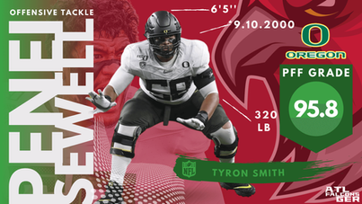 Penei Sewell - Offensive Tackle