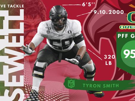 Penei Sewell - Offensive Tackle University of Oregon