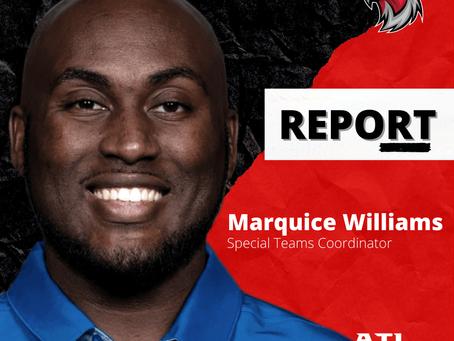 Marquice Williams neuer Special Teams Coordinator