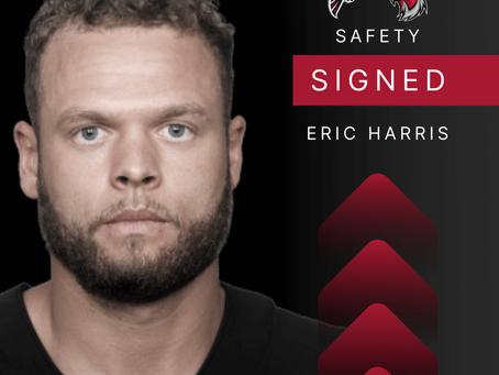 Eric Harris - Free Safety verpflichtet