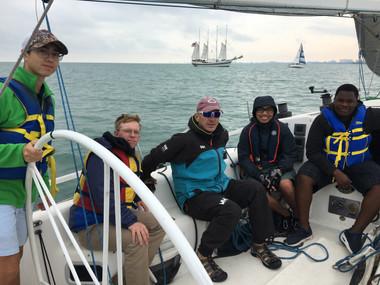 1st Sail Aboard SSTV SCOUT