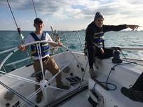 Boatswain Noah Lyons & Guest
