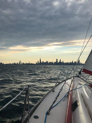 SSTV Edward B Stein under sail