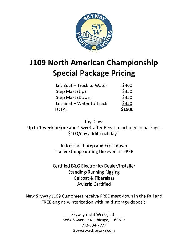 J109 North American Championship Flyer S
