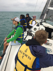 1st Sailing Aboard SCOUT