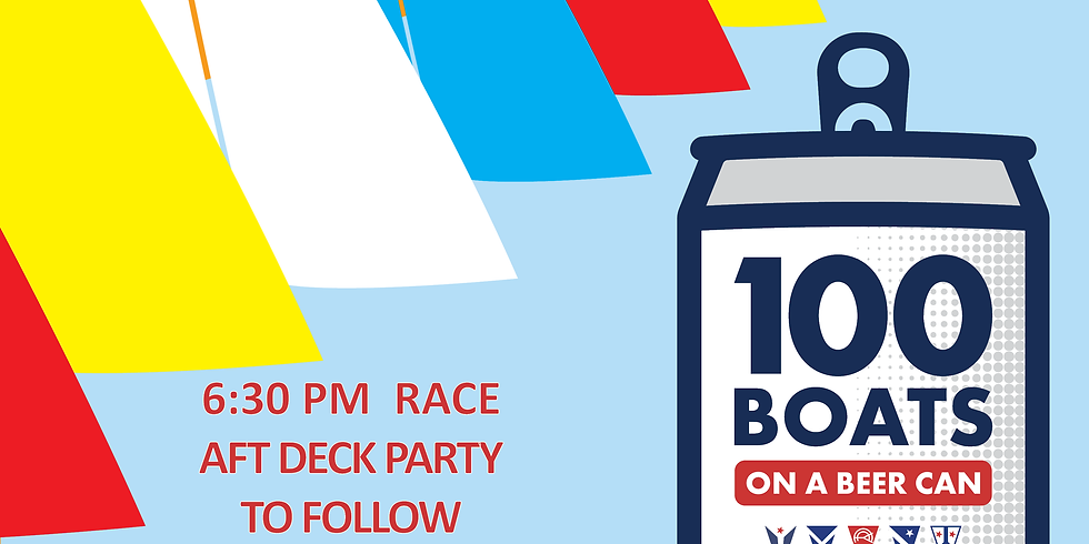 100  Boat Beer Can- Chicago Race Week