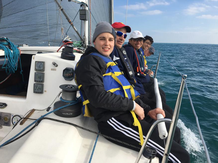 1st Sail Aboard SCOUT