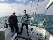 Mate Marc Cauinian & Crew Leader Dylan Smith