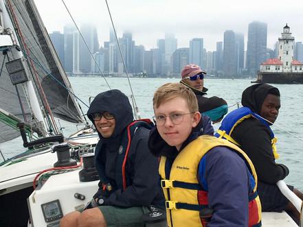 Late Season Sailing