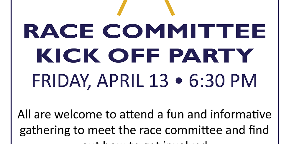 Race Committee Kick Off Party and Recruitment