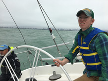 Boatswain Lyons at the Helm
