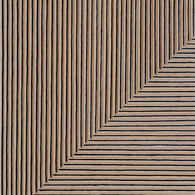 Beam(2), Mixed media on canvas, 160x120c