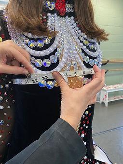 Bust Circumference Measurements | Irish Dance Dresses
