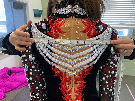 Shoulder To Shoulder Measurements For Back Of Irish Dance Dress