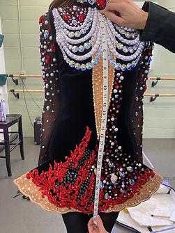 Full Length Measurements | Irish Dance Dress