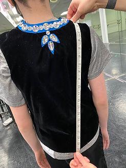 Back Body Length Measurements | Irish Waistcoat