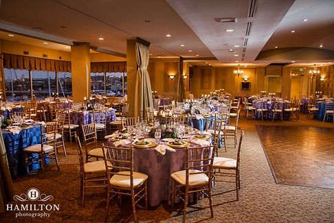 Wedding Reception Setup At Tabrizi's Wedding Venue in Baltimore