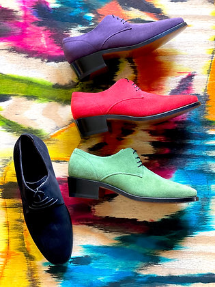 PICADILLY SHOE IN SUEDES