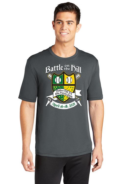 Battle on the Hill Baseball T-shirt