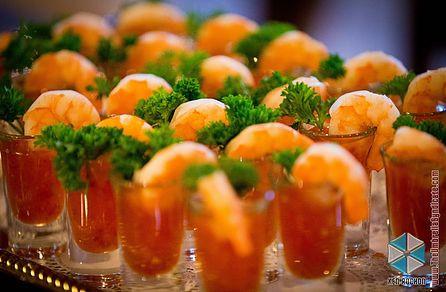 Wedding Appetizers At Tabrizi's Wedding Venue