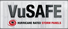 VuSafe Hurricane Rated Storm Panels Logo