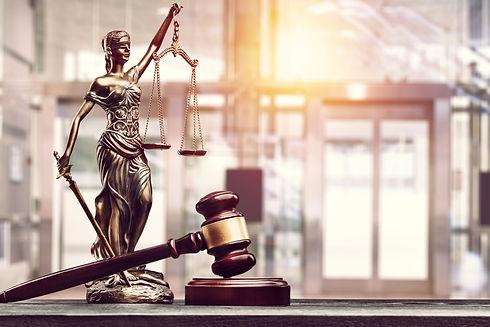Judge Gavel And Statue