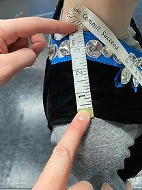 Waistcoat Shoulder Width Measurements