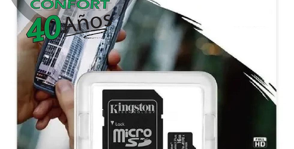 MEMORIA SD KINGSTON 256 GB CANVAS SELECT PLUS ELIT