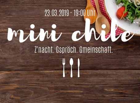 """Stübli presents: """"Mini Chile"""""""