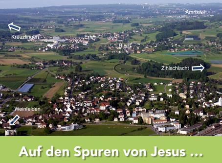 Auf den Spuren Jesu ...