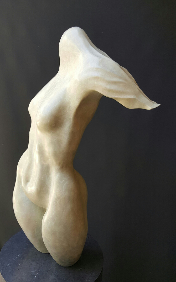 "Spark's Gallery show ""Physique"" features sublime sculptures by Maidy Morhous"